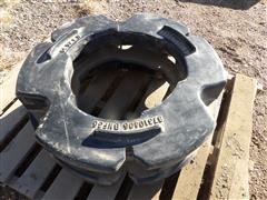 Case IH Tractor Rear Cast Wheel Weights