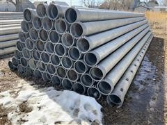 "Hastings 10"" Gated Irrigation Pipe"