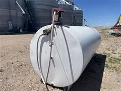 Palmer STSSF 64x12 2000 Gallon Fuel Tank W/pump