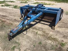 7' Hydraulic Box Scraper
