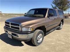 2001 Dodge 1500 Laramie SLT 4x4 Extended Cab Pickup