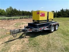 2012 Magnum MMG45 T/A Towable Generator