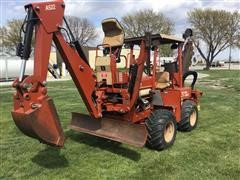 2004 DitchWitch 5700DD 4X4X4 Trencher W/Backhoe Attachment