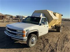 1999 Chevrolet K3500 4X4 Garbage Truck
