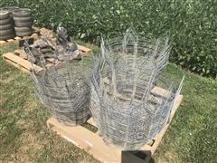 Wire Tree Baskets