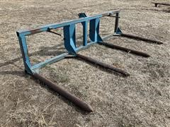Bohnert 3 Point Double Bale Forks