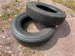 Bridgestone 11R24.5 Recap Truck Tires