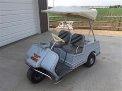 Harley Davidson 3-Wheel Golf Cart