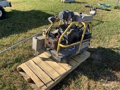 Soff-Cut X-4000 Prowler Concrete Saw