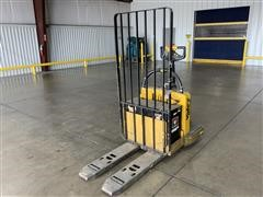 2010 Yale MPE060LFN24T2536 Electric Controlled Rider Pallet Jack