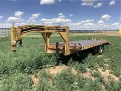 2001 Superior T/A Flatbed Trailer