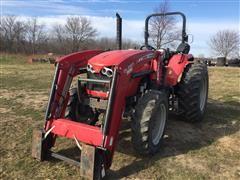 Massey Ferguson 4610 MFWD Tractor