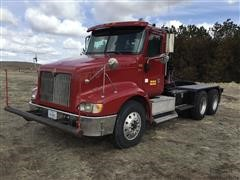 2007 International 9200i T/A Truck Tractor W/Winch & Rolling Tailboard