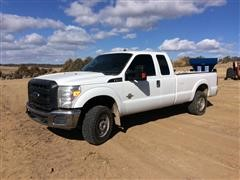 2013 Ford F250 4x4 Extended Cab Pickup