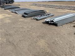 Grain Bin Sheets W/Brackets & Mounting
