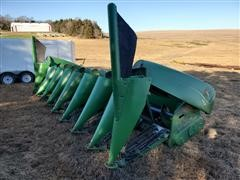 2005 John Deere 893 Corn Header W/Case IH Adapter Plate