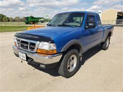 1999 Ford Ranger 4x4 4 Door Pickup