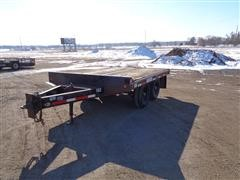 1997 Felling FT12 T/A Flatbed Trailer