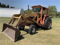 1967 Allis-Chalmers One-Ninety XT Row Crop Tractor W/Loader & Buckets