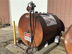 1000-Gallon Fuel Tank W/Pump, Hose & Nozzle
