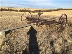 McCormick-Deering Horse Drawn Dump Rake