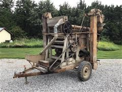 """AT Ferrell & Co """"Clipper Cleaner"""" Seed Cleaner On Portable Cart"""