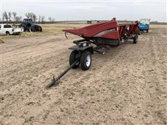 2011 Case IH 3412 Row Crop Head With Header Trailer