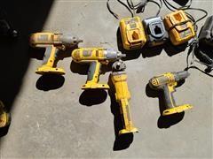 DEWALT Portable Battery Operated Shop Tools