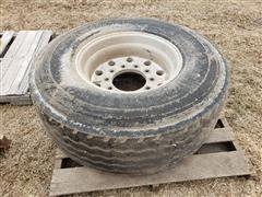 Bridgestone M844 425/65R22.5 Tire & Rim