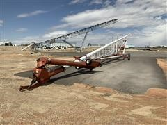 """Feterl 12"""" X120' Auger With Swing Out"""
