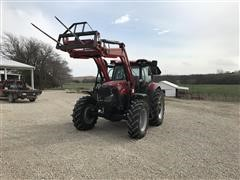2018 Case IH Maxxum 125 MFWD Tractor W/Loader