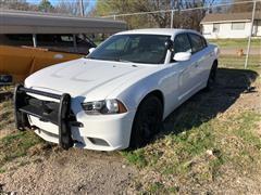 2014 Dodge Charger Police Sedan (INOPERABLE)