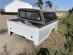 2001 Ford F250 8' Pickup Box W/ Topper