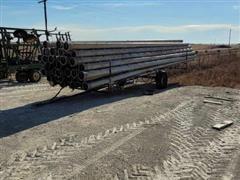 Irrigation Pipe & Trailer