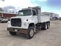 1980 Ford 9000 T/A Dump Truck