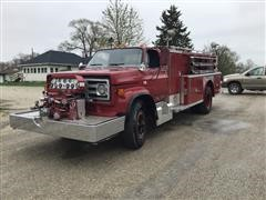 1982 GMC C7000 Pumper Truck