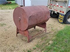 200-Gallon Fuel Tank On Stand