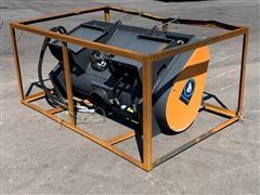 2021 Wolverine Hydraulic Mix & Go Concrete Mixer Skid Steer Attachment