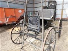 Single Seat Horse Drawn Buggy