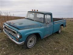 1967 International 1100B 3/4 Ton 2WD Pickup
