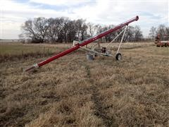 Farm King 841 Auger W/Gas Engine