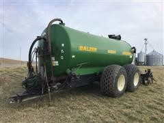 2002 Balzer 4800 Magnum Liquid Manure Spreader W/ Applicator Shanks