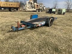 2001 DitchWitch S7 Tilt Bed Utility Trailer