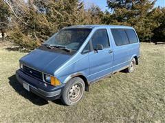 1989 Ford Aerostar Passenger Van
