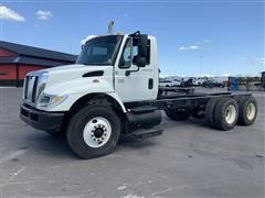 2006 International 7500 HT570 T/A 6x4 Cab & Chassis