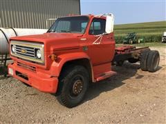 1973 Chevrolet C60 S/A Cab & Chassis