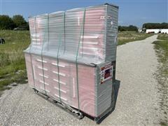Steelman 7FT-18HD Industrial Work Bench W/Cabinets