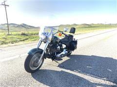 2000 Harley Davidson Fat Boy Motorcycle