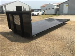 "2020 Laramie 16' 6"" Flatbed Truck Bed"