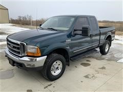 1999 Ford F250 Lariat 4x4 Extended Cab Pickup